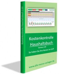 Kostenkontrolle-Haushaltsbuch 2.03