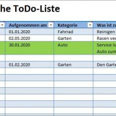 Einfache ToDo-Liste