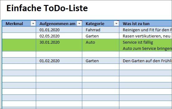 Einfache Todo Liste Und Aufgabenverwaltung 4
