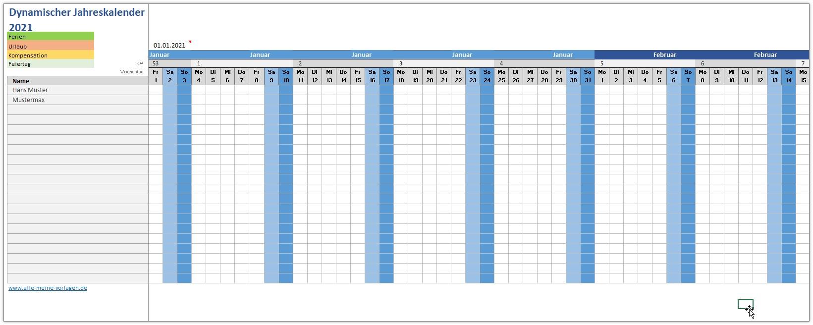 Kalender 2020 Zum Ausdrucken In Excel 19 Vorlagen Kostenlos 0 8