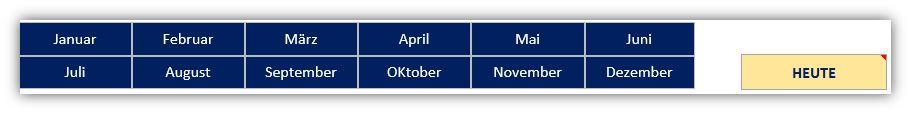 Familienkalender als Excel-Vorlage