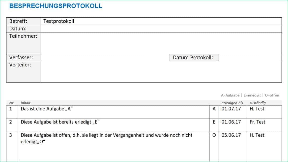 protokoll vorlage word | alle-meine-vorlagen.de, Einladung