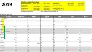 AMV-Jahreskalender Pro