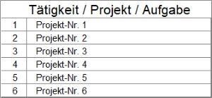 Zeiterfassung Mit Excel Tool Für Projektzeiterfassung Alle Meine