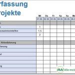 Zeiterfassung für Projekte