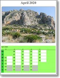 Fotokalender 2020 zum Ausdrucken