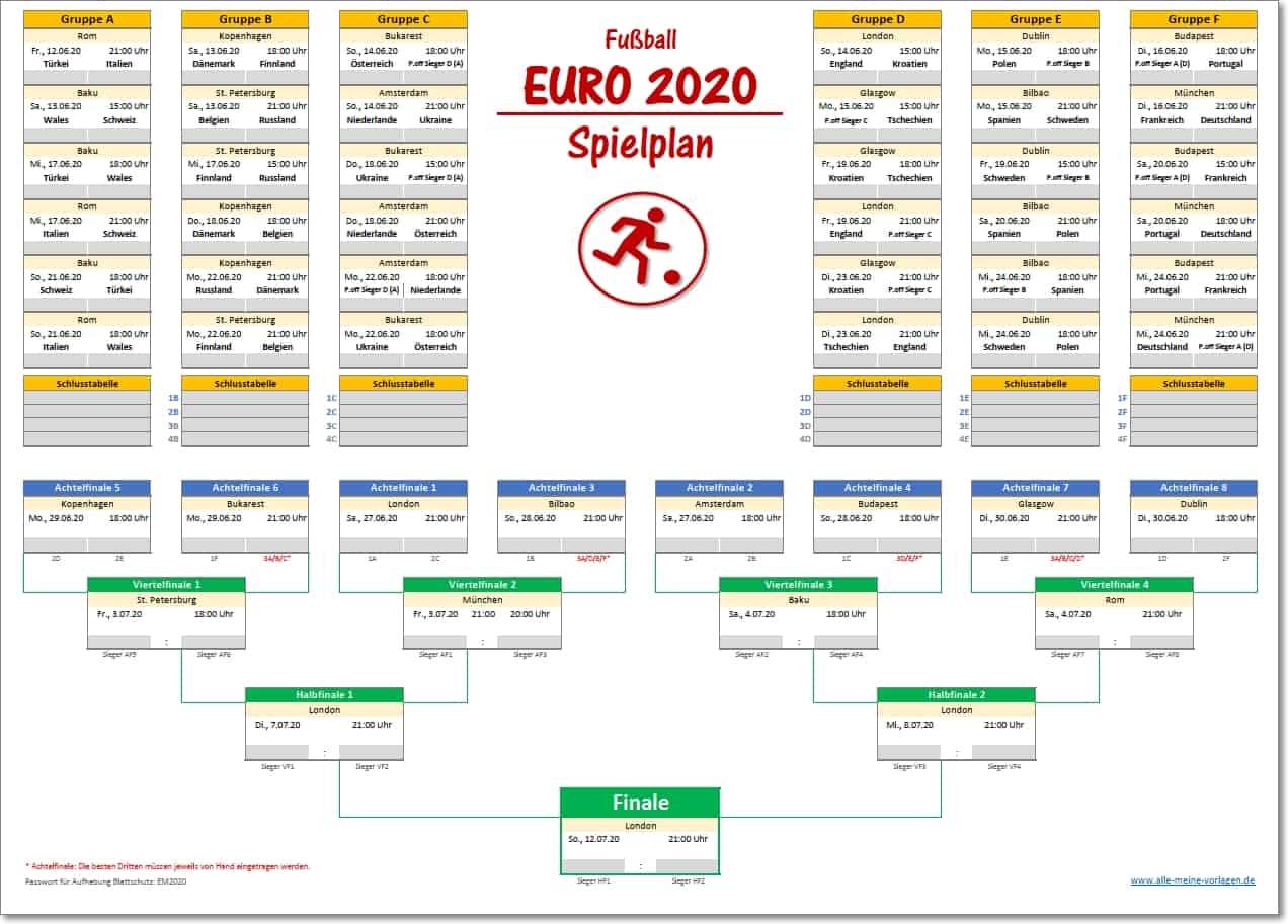 Euro Achtelfinale 2021
