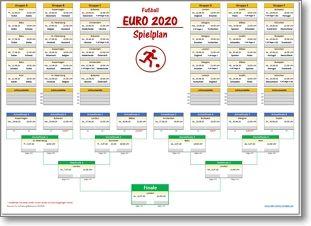 Spielplan Em 2021 Ausdrucken