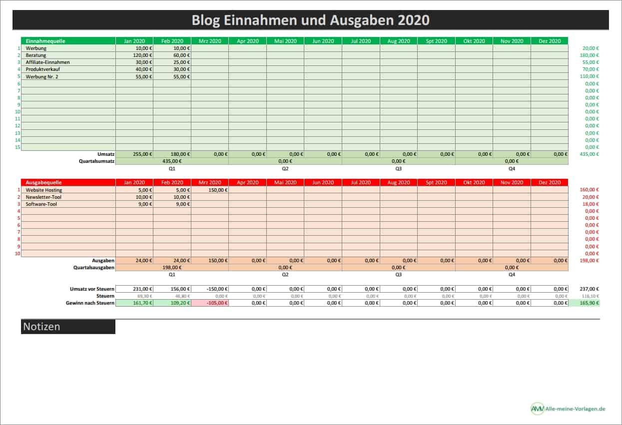 Excel Vorlage Kassenbuch Alle Meine Vorlagen De 12