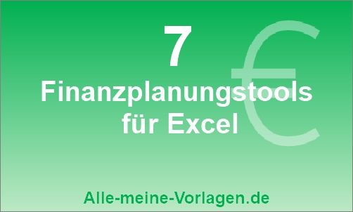 Private Finanzplanung: Tools für Excel