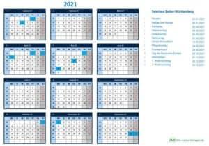 Feiertage 2021 – ein Feiertagskalender für Excel