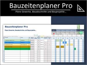 Bauzeitenplaner Pro