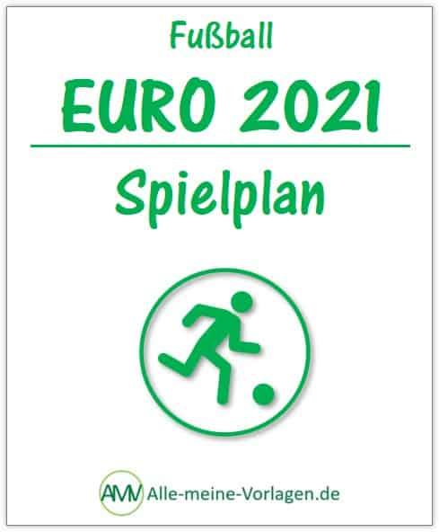 Euro 2021 - Spielplan