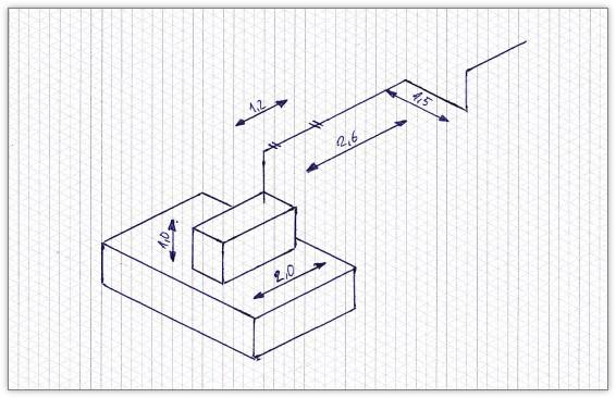 Isometrie Papier als Vorlage für Excel und als PDF