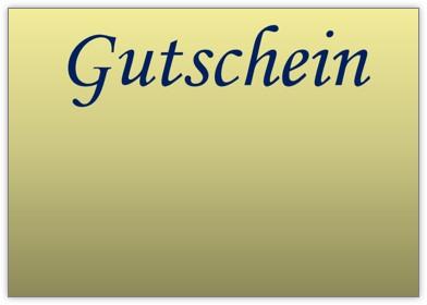 Gutschein Gold